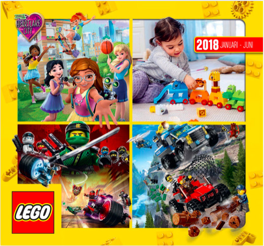 digitale LEGO Catalogus voorjaar 2018