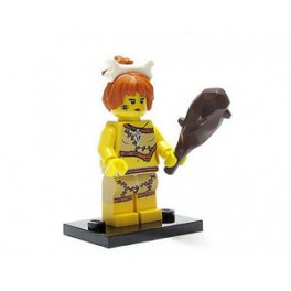 Lego Minifiguur holbewoonster met knots