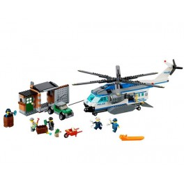 60046 - Lego City Politie Helicopter Bewaking