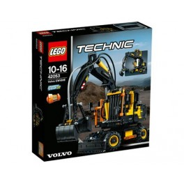42053 lego technic volvo ew160e bouwstenenshop. Black Bedroom Furniture Sets. Home Design Ideas