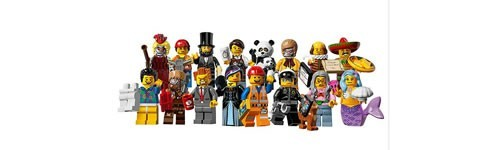 LEGO Minifiguren Serie The Movie