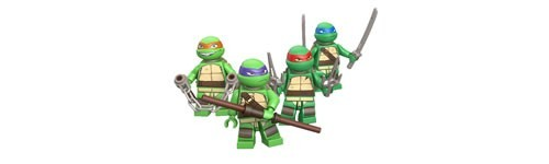 LEGO Minifiguren Teenage Mutant Ninja Turtles