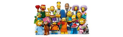 LEGO Minifiguren Simpsons serie 2